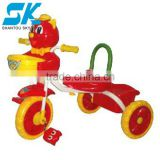 hot 2012 children toy car children pedal go kart Plastic pushing baby car stroller 3 wheel children car