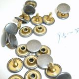 Gold metal buttons