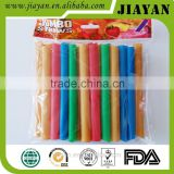 25 pcs bubble tea sharp drinking straw