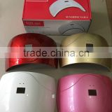 2016 Hot Sell Best Quality 24W sun dryer lamp with sensor nail lamp sun uv led nail dryer lamp