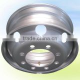 "China Tubeless Wheel Trailer Parts Steel 22.5"" Rims"