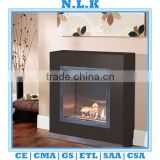 [N.L.K] BRAND high quality indoor Ethanol fireplace CE china indoor freestanding bio ethanol glass fireplace