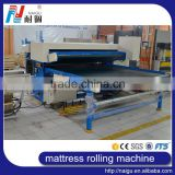 Foshan City factory manufacture automatic spring & foam mattress roll packaging machine