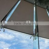 stainless steel curtain wall spider fittings glass spider system spider fin