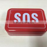 Camping Emergency SOS tin box