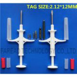 Animal Microcahip Injector 2.12*12mm syringe for animal identification