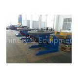 Double Gear Electric Rotary Pipe Welding Positioners for Pipe Powered Tilting / Rotating