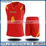 custom sublimated basketball uniform suit basketball training t-shirt