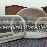 high quality Inflatable transparent camping tent with door T1028