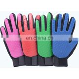 Dog Product 5 Finger best selling pet grooming brush Accesories pet Grooming Gloves