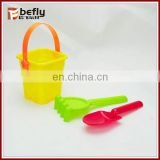 Very cheap summer beach toys mini sand pail shovels