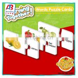 Hot Selling Vegetable&Fruit Puzzle Educational Puzzles For Kids
