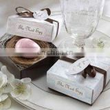 """The Nest Egg"" Scented Soap in Nest (Pink or Blue)"