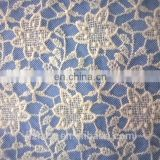 heavy guipure mesh lace fabric for garment 2015