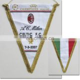 sports pennants / wholesale Sports Felt Satin Pennant felt pennant