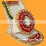 Marble Mobile Stand & Watch With Gold Painting