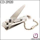 high quality stainless steel key ring nail clipper CD-JP020