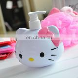450ml cute hello kitty bathroom set Liquid soap bottle