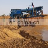 Alluvial Small Scale Portable Mobile Mini Gold Trommel Wash Plant with Heavy Duty Feed Hopper