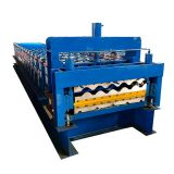 Bamboo color glazed tile trapezoidal roof sheet roll forming machine
