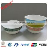 Colorful Tableware Ceramic 4pc Mixing Bowl Sets