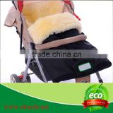 Colorful Warm Stroller Baby Sleeping Bag,Comfortable Baby Stroller Sleeping Bag,100% Sheepskin Baby Winter Sleeping Bag
