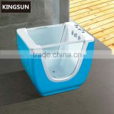 Small Freestanding Blue Kids Bathtub Cheap Price Baby Bath Tub