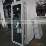 Simple and classic white color aluminium folding patio doors prices