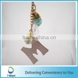 Letter Word Pendant for key chain, bags, clothings, belts and all decoration