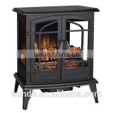 CSA Approved 25 inch Infrared Electric Fireplace Stove with 3 sides glass window