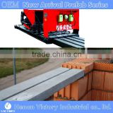 Prestreesed machine for concrete lintels machine kerb laying machine 110mm 75mm