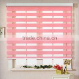 2015 wholesale zebra fabric for roller blind Most Popular Home Decoration Motorized Zebra Roller Blind window shutter                                                                         Quality Choice