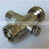 7/16 Type Male to 7/16 Female 1/4 Arrester Assembly for RF cable, Lightening surge arrester