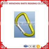 wholesale high quality capacity d type aluminum hook