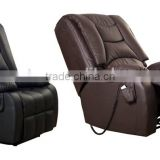Electric recliner massage sofa, kneading & vibrating massage