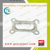 YC6L310-40-L50DA-T1 YUCHAI J5600-1008250B engine exhaust manifold gasket leak replacement