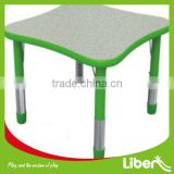 Study table and chair/Student desk and chair/Classroom furniture/Kids school table and chair set LE.ZY.167