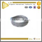 7x7 304 stainless steel wire rope cable price