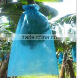 Blue banana plastic grow bag with punching holes