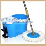 Plastic Small Spin Mop Bucket With Wringer