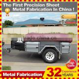 Kindle 2014 Guangdong Professional heavy duty Camper trailer