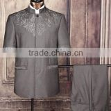 Mens short sleeve design safari suit for africa man