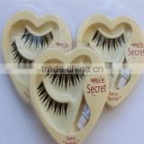 wholesale china factory price new arrival beautiful decorative false eyelash in heart packing lash me eyelash beauty supply