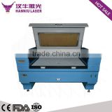 hanniu 1480 co2 laser cutting machine/CO2 Plastic Leather Playwood Die Board CNC Laser Cutting