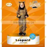 Playful Kids Carnival Animal Leopard Costumes children's Jumpsuit Leopard Costume girls Leopard Cosplay Costumes for Halloween
