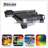 2014 hot sale DOCAN Digital UV Flatbed Acrylic Printer M8 for PVC board billboard wood metal plate printing