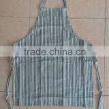 cotton apron for kitchen and promotion