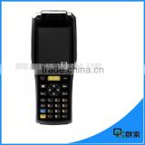 3G handheld android portable data terminal with 1d laser barcode scanner with IC smart card reader PDA3505