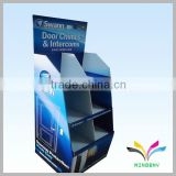 China manufacturer hot selling good quality stable recycle supermarket attractive cardboard corrugated shelf for retail