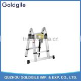 Goldgile 5m Multi-Purpose Folding Extensionable Telescopic Aluminium Ladder (3.8M foldable)
